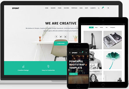 ePoint - Responsive HTML5 Template