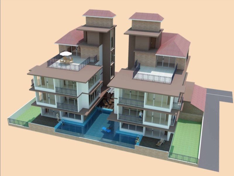 1BHK Penthouse with Lakeview-For Sale-Sarovar-North Goa
