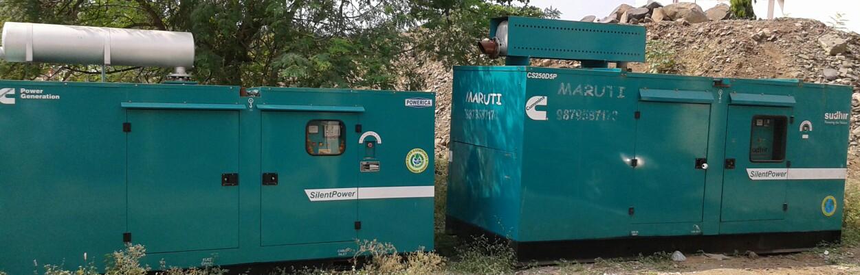 Diesel Genset on Rental basis available