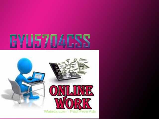 Part Time Job Available, Earn Rs.350/- to Rs.500/- Per Hour