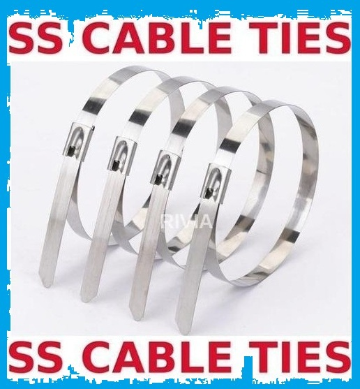 Stainless Steel Cable Ties supplier in Delhi in Mumbai listed under Electronics - Tools / Machinery